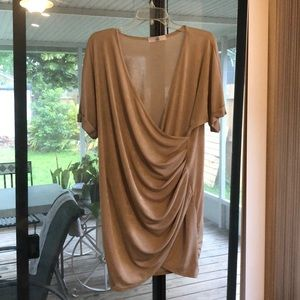 Gold/Sand Missguided dress